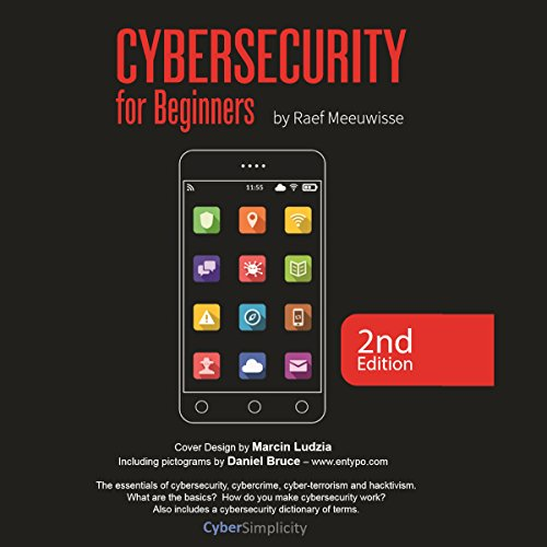 Cybersecurity for Beginners audiobook cover art