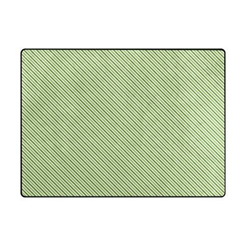 MALPLENA Malpela Intensive Green Line Teppich Anti-Rutsch-Pad Fußmatte Fußmatte Fußmatte Schuhe Schaber, Polyester, 1, 63 x 48 inch