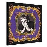 Albumcover Sir Elton Hercules John The One Leinwand Poster