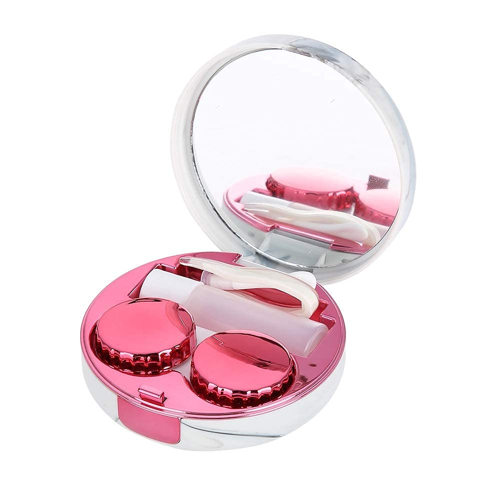 Contact Lens Box 4 colors Limited Special Price Portable Seattle Mall lenses case p Soaking