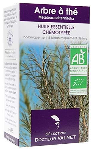 Dr Valnet Arbre à Thé (Tea Tree) Huile Essentielle Bio - 10 ml