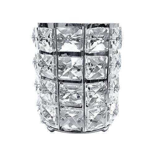 Feli546Bruce Stifteköcher, luxuriös, mit Kunstkristallen besetzt, Zylinder-Aufbewahrung,...