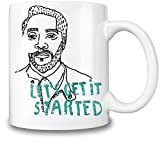 Will.I.Am Let's Get It Started Mug Cup