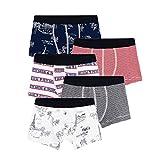 Petit Bateau Pequeño Barco Boxer - Pantalones Cortos para niño, Multicolor, 12 años