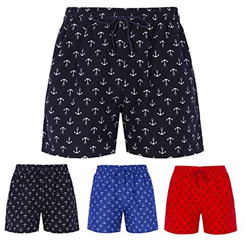 Trendcool Bañadores Hombre Bañador Hombre Bañadores Hombre Surferos Bañador Secado Rápido Shorts de Baño. (M5_S)