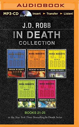 J. D. Robb in Death Collection: Origin in Death / Memory in Death / Born in Death / Innocent in Death / Creation in Death