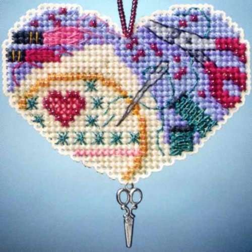 Mill Hill Love Stitching Cross Stitch Kit