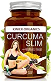 CURCUMA SLIM 100 Capsule Dimagranti Uomo Donna | Brucia Grassi Potente Per Perdere Peso Velocemente | Fat Burner - Drenante - Riduttore di Appetito e Assorbimento | E-Book in Omaggio