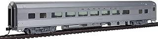 Walthers 85' Budd Large-Window Coach - Ready to Run -- Santa Fe (Silver)