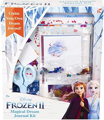 Disney Frozen 2 Album Fotos para Pegar y Escribir Princesas Anna y Elsa, Incluye Scrapbooking Materiales con Pegatinas Infantiles, Accesorios Scrapbook Manualidades Niños, Regalos Frozen Niñas