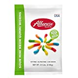 Albanese Sour 2-Inch Worms, 4.5-Pound Bags