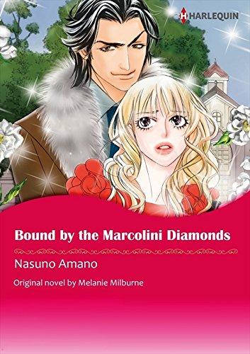 Bound by The Marcolini Diamonds: Harlequin comics (English Edition)