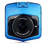 Novatek gt300 Mini Car DVR Camera GT300 Dashcam 1920 x 1080 Full HD 1080P Video Registrator Recorder G-Sensor Night Vision Dash Cam, Blue