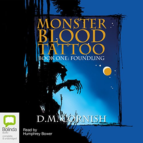 Monster Blood Tattoo audiobook cover art