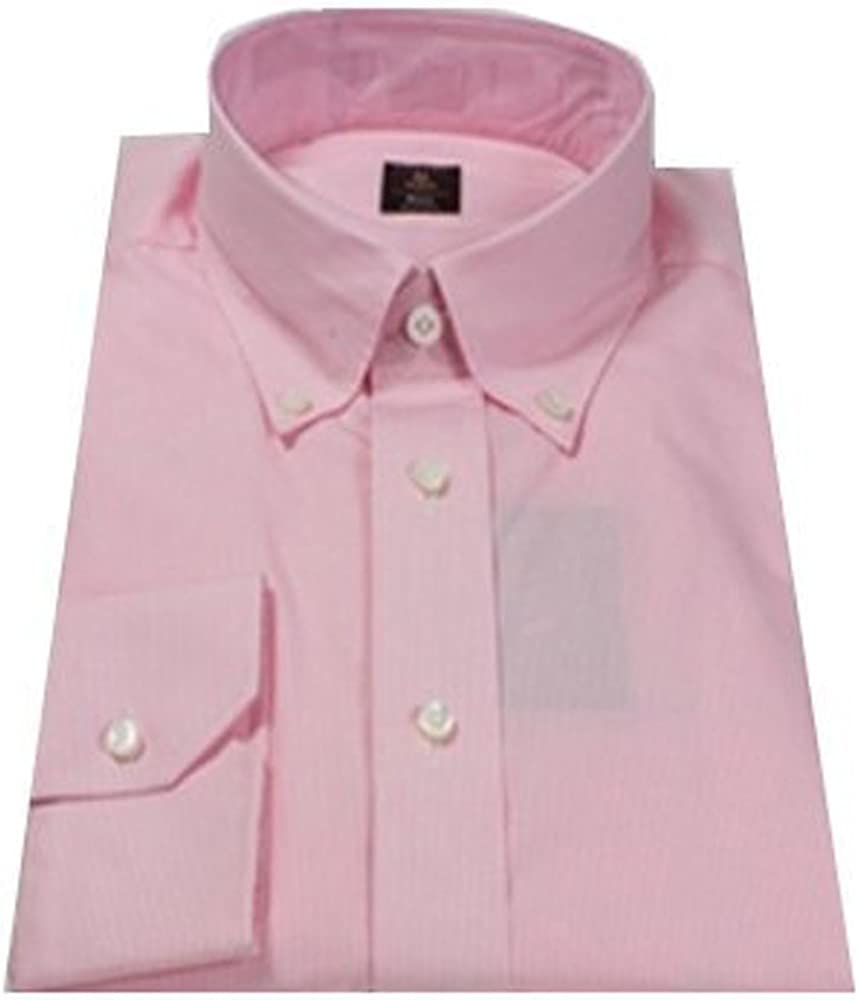 Robert Talbott Pink Plaid Check Estate Bespoke Dress Shirt
