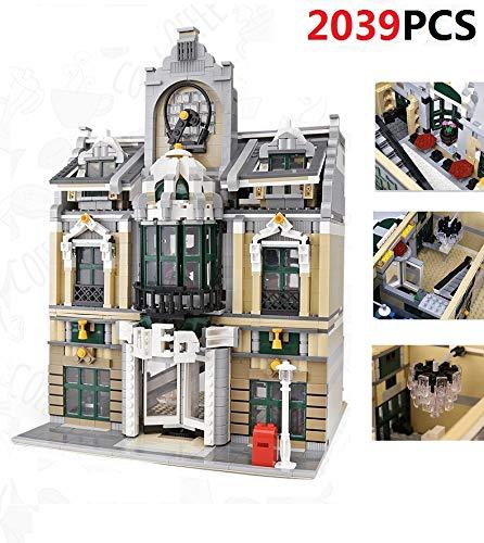 PEXL - Juego de construcción modular, arquitectura creativa de bloques de construcción para el salón de la boda, conjunto de construcción con 2039 ladrillos y 3 minifiguras