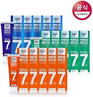 [LG HnB] Perio Total 7 toothpaste /ペリオトータル7歯磨き粉 120gx18個(海外直送品)