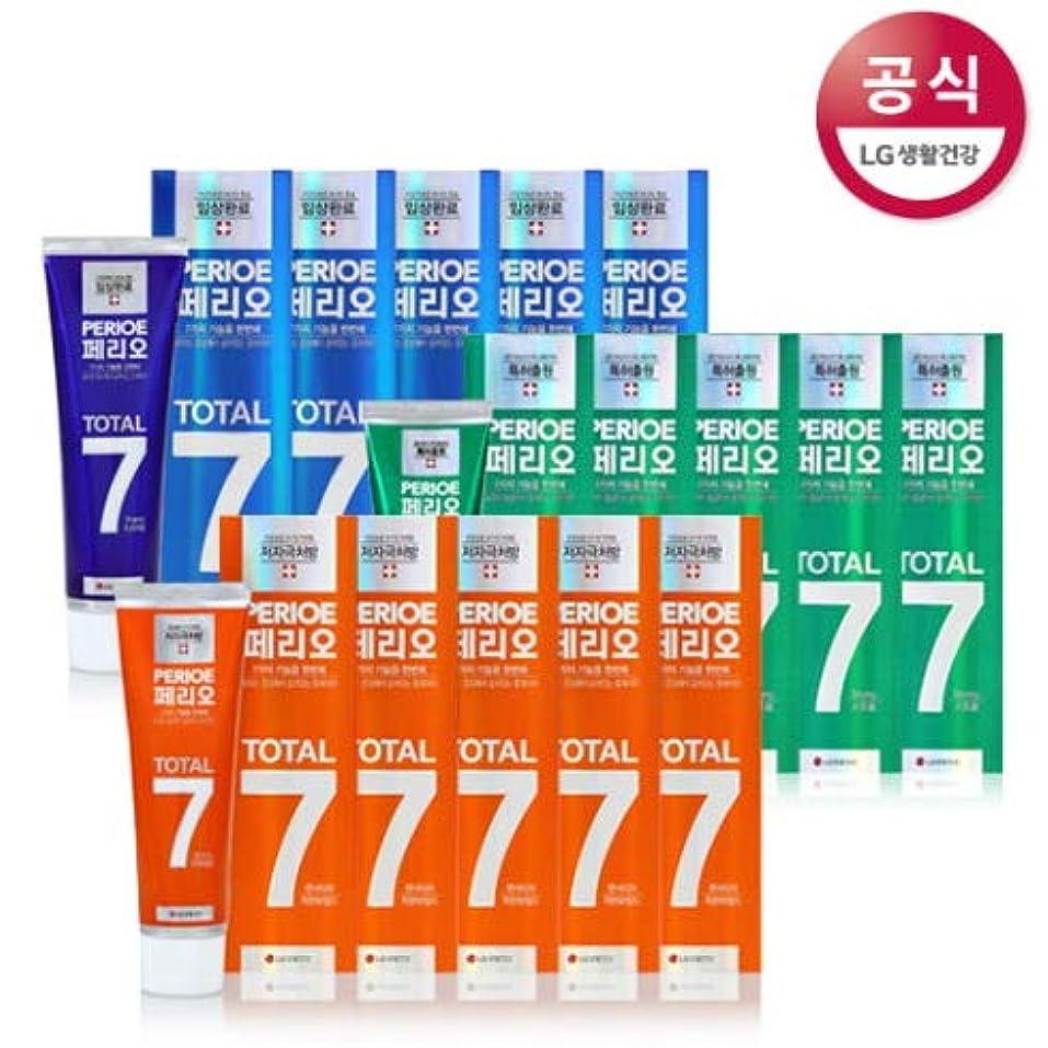 アクセスできないどんなときも準備[LG HnB] Perio Total 7 toothpaste /ペリオトータル7歯磨き粉 120gx18個(海外直送品)
