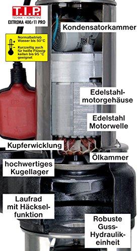 T.I.P. Extrema 400/11 Pro Schmutzwasserpumpe - 8