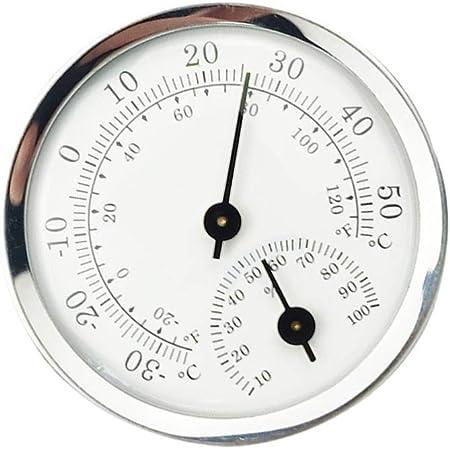 ULTECHNOVO Higrómetro Termómetro Temperatura Interior Sensor de Humedad Monitor Detector Medidas para Casa Garaje Invernadero Bodega