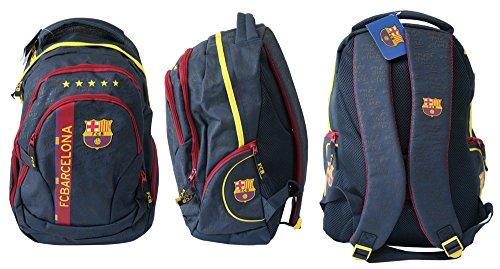 *Exclusiv* FC Barcelona Rucksack Messi Neymar Schulrucksack Sportrucksack ergonomisch EDEL 2015