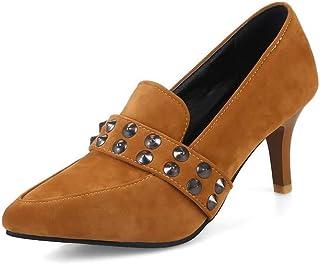 BalaMasa Womens APL12019 Pu Heels