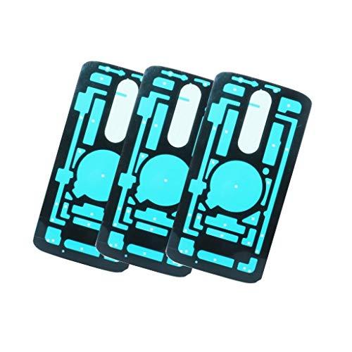 Back Cover Rear Battery Door Case Tape Adhesive for Motorola Moto X Force XT1580 XT1581 & Motorola Droid Turbo 2 XT1585