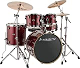 Ludwig Drum Set, Red Sparkle (LCEE22025)