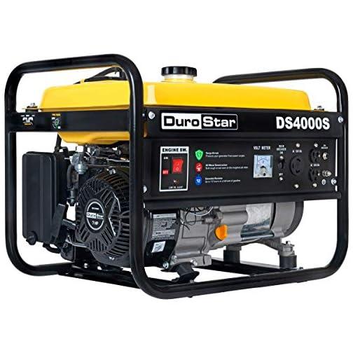 Durostar DS4000S Portable Generator, Yellow/Black 3