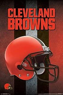 Trends International Cleveland Browns Helmet Wall Poster 22.375