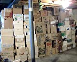 BASEBALL CARD STORAGE UNIT AUCTION FIND ~ INVESTMENT BOX OF 600+ CARDS LOADED WITH STARS & ROOKIES