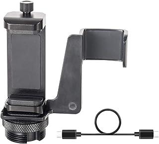 Smatree Soporte para teléfono móvil para dji OSMO Pocket y Smartephone (Solo se Ajusta Selfie Stick Recargable para Osmo Pocket)