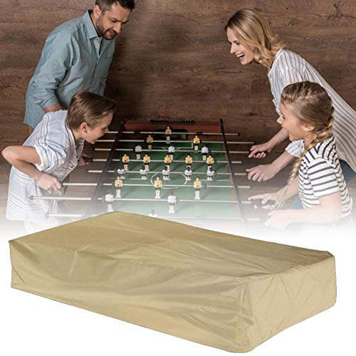Cubierta para mesa de billar al aire libre, cubierta protectora para mesa de billar, resistente al agua, para muebles de hogar beige