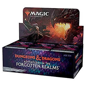 Magic  The Gathering Adventures in the Forgotten Realms Draft Booster Box | 36 Packs  540 Magic Cards