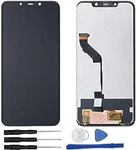 Sostituzione Assemblea Schermo LCD Display Digitizer Touch Screen Vetro per Xiaomi Mi Poco F1/ Pocophone F1 M1805E10A Nero