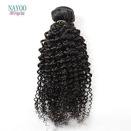 nayoo® Beauté Cheveux produits brésilien naturel de cheveux ondulés brésiliens Sew en tissage naturel 3 pièces/lot cheveux vierges Deep Wave Deal