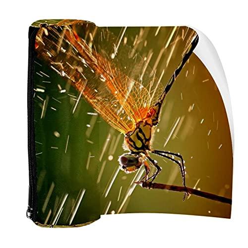 Federmäppchen mit Libellen-Sprays und Flüssigkeiten, Beutel mit Reißverschluss für Schreibwaren, Reisen, Schule, Studenten