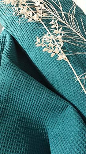 Generisch Manufaktur Herzstücke - Tela de piqué de algodón, por metro, ropa de bebé, ropa infantil, 1,50 m de ancho, certificado Öko-Tex Standard 100