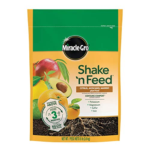 Miracle-Gro Shake 'n Feed Citrus, Avocado, and Mango Plant Food