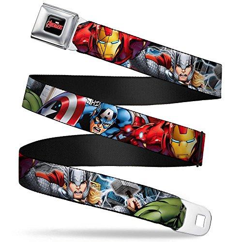 Buckle-Down Seatbelt Belt Avengers Regular