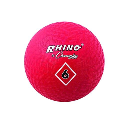 Champion Sports Spielplatzball, 15,2 cm, Rot