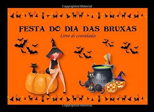 Festa Do Dia Das Bruxas: Livro de Convidados   Recordação da festa de Halloween