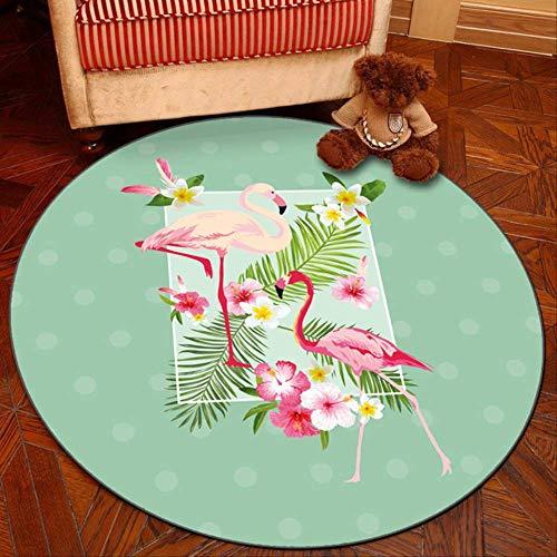 axnx Teppiche Graue Reihe Runde Teppiche Für Wohnzimmer-Computer-Bereich Teppich-Kind-Garderobe-Wolldecken Und Teppiche Spielen Zelt-Boden-Matte 60Cm Color15