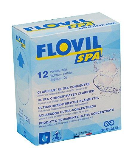 Flovil Spa md9292Produkt aufhellmedium Ultra Konzentrat für die Wasser-Spa, Weiß