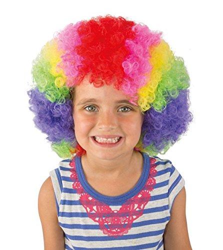 Perruque Enfant Pop Clown Multicolore