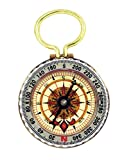 SE Glow-in-the-Dark Brass Compass - CC50B