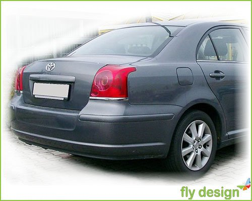 Car-Tuning24 36030144 Tuning AVENSIS T25 2003 9 SPOILER Tuning POSTERIORE Alettone