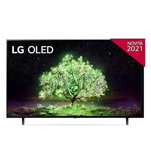 LG OLED65A16LA Smart TV 4K 65 , TV OLED Serie A1 2021, Processore α7 Gen4, Dolby Vision IQ, Wi-Fi, webOS 6.0, FILMMAKER MODE, Game Optimizer, Google Assistant e Alexa Integrati, Telecomando Puntatore