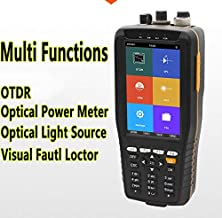 High Presion OTDR Tester Optical Time Domain Reflectometer 4 in 1 OPM OLS VFL Touch Screen 3m to 60km Range with 10mW VFL Optical Instruments by DHL