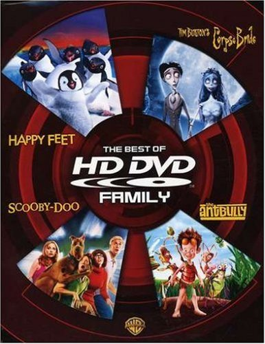 The Best of HD DVD - Family (Happy Feet / Tim Burton's Corpse Bride / Scooby-Doo / The Ant Bully) by Matthew Lillard